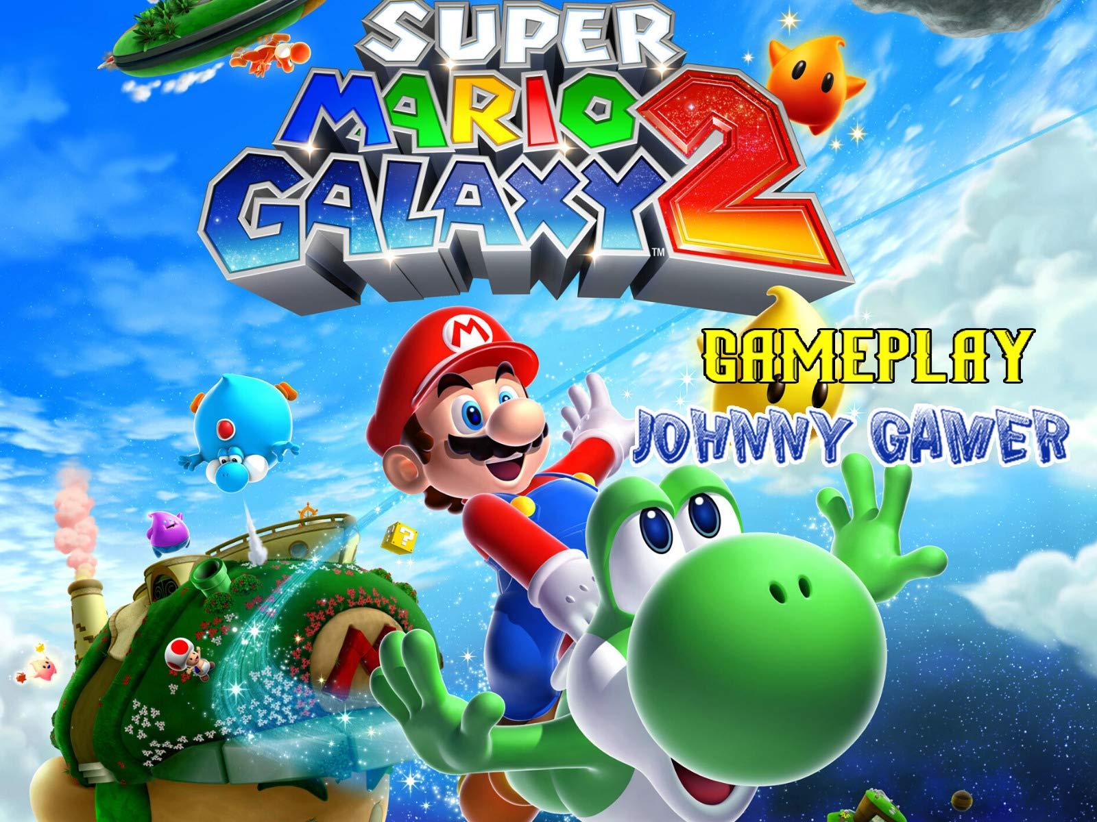 Clip: Super Mario Galaxy 2 Gameplay - Johnny Gamer on Amazon Prime Video UK