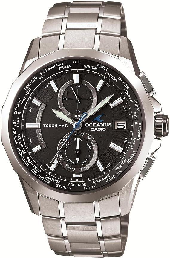 [カシオ] 腕時計 オシアナス Manta 世界6局対応電波ソーラー時計 OCW-S2000-1A2JF シルバー