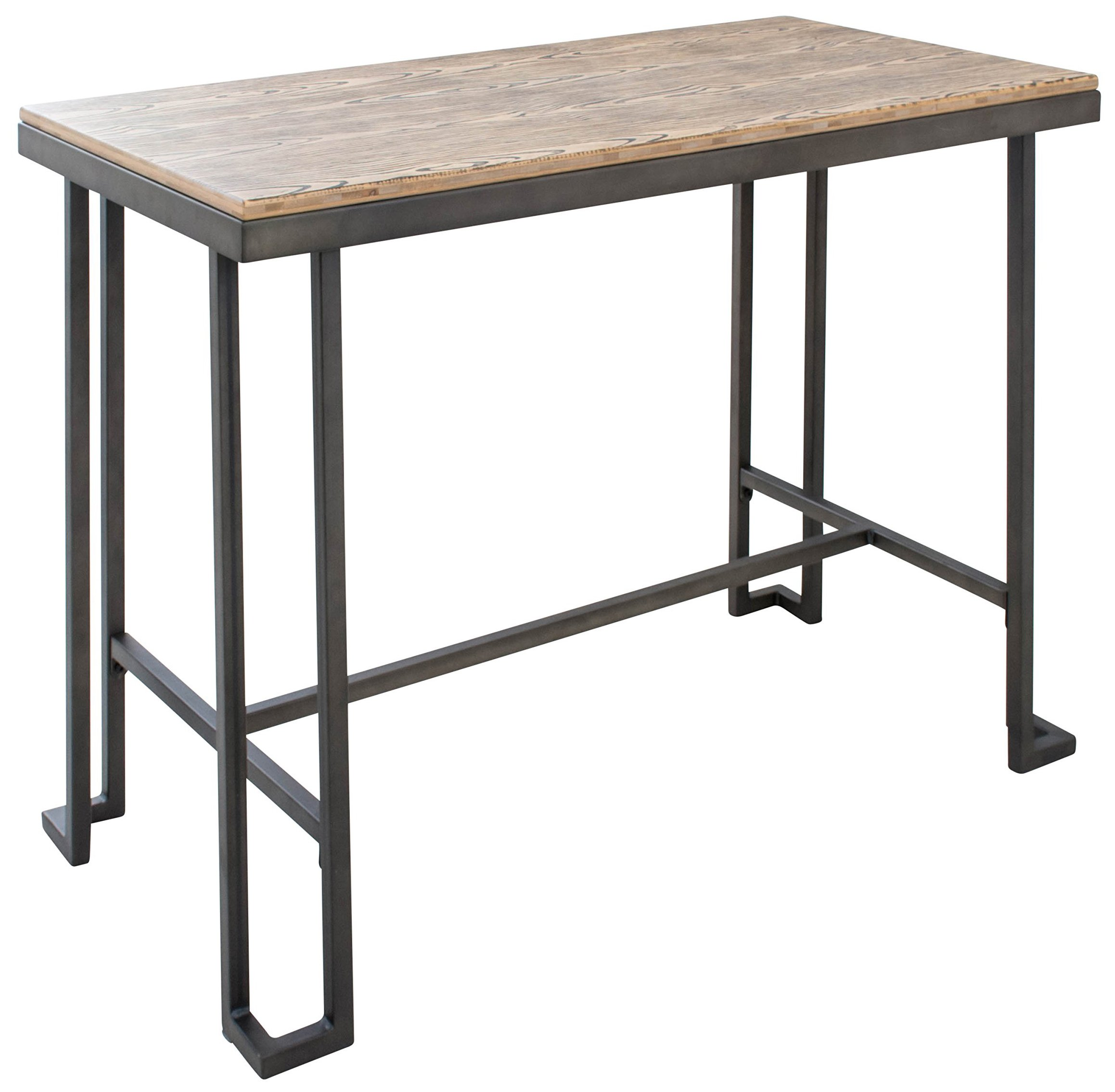 LumiSource Roman Counter Table, Antique Brown