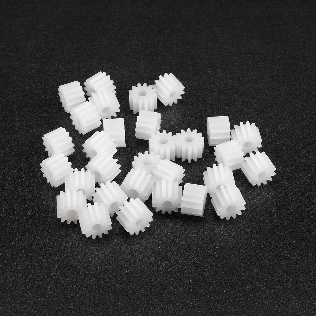 uxcell Plastic Gear DIY Reduction Worm Gears Model 482A for RC Car Robot Motor 20pcs