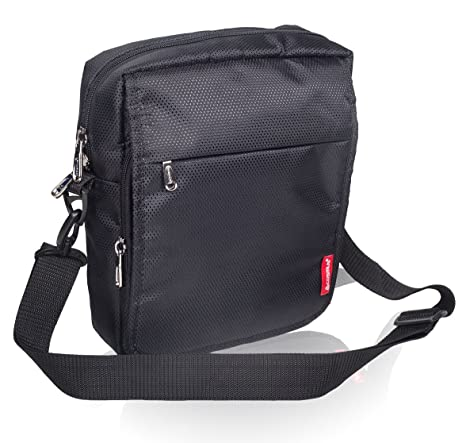 COSMUS Polyester Black Messenger Bag For Unisex  Amazon.in  Bags ... ec9897ea16142