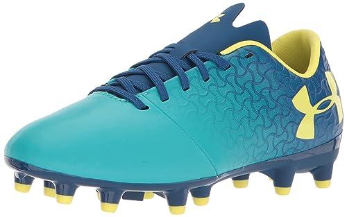 08bc70c803e3 Under Armour Unisex Kids' Ua Magnetico Select Fg Jr Footbal Shoes, Green  (Teal