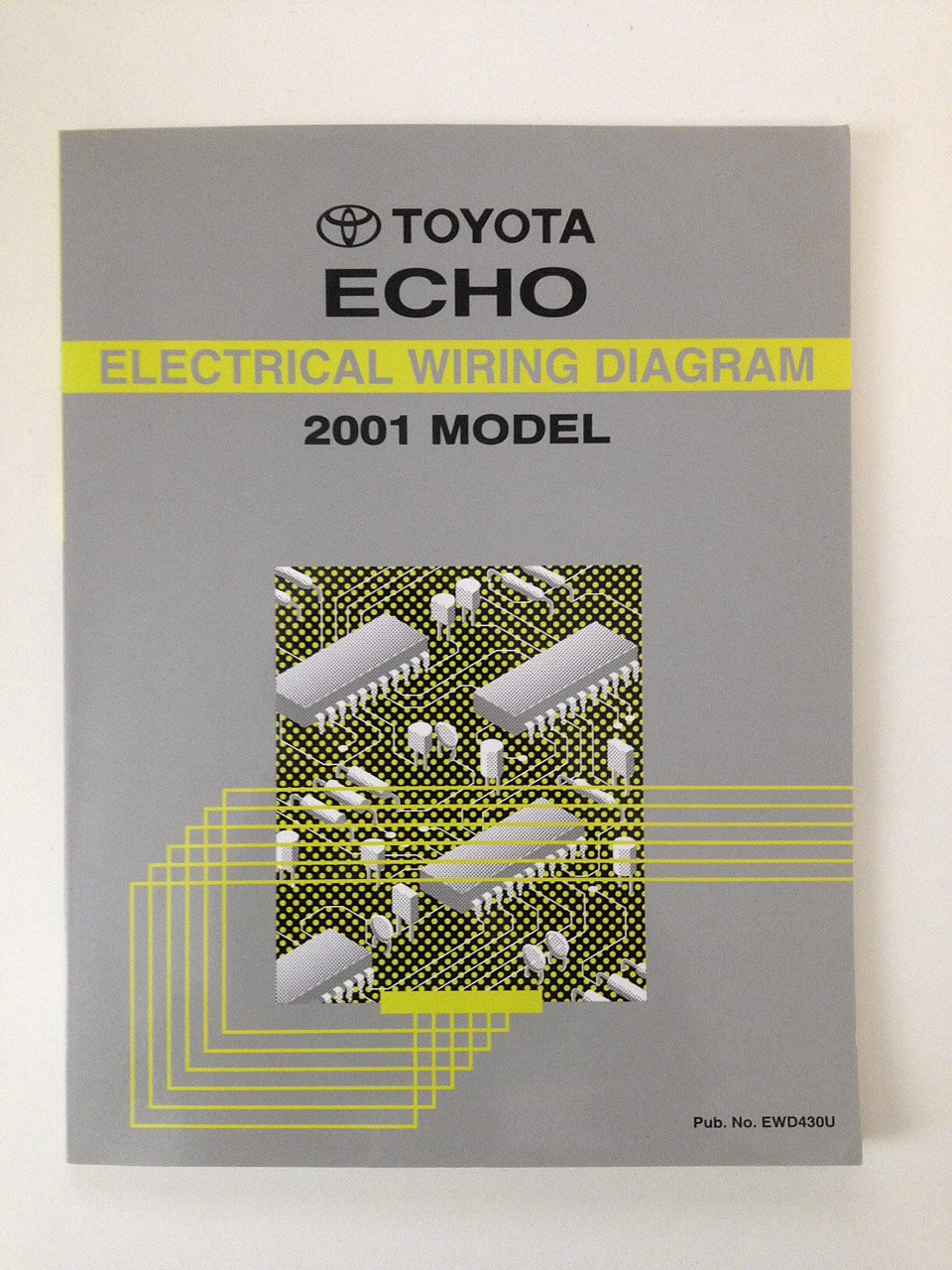 toyota ECHO electrical wiring diagram 2001 model: toyota motor corporation:  Amazon.com: Books