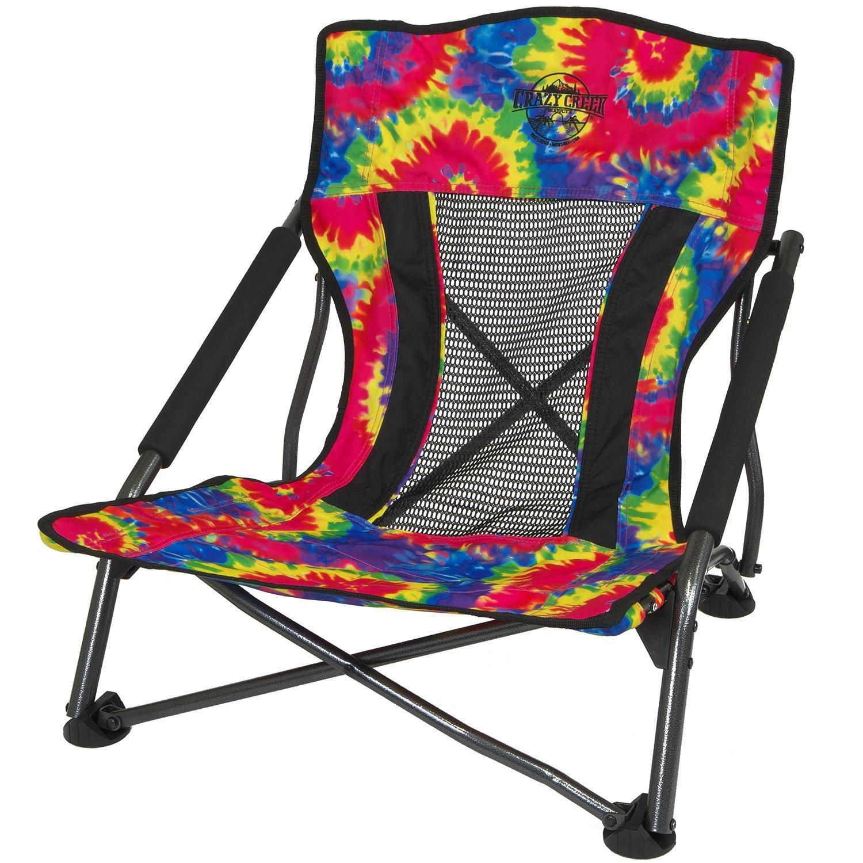 Fabulous Amazon Com Crazy Creek Crazy Creek Beach Chairs Tie Dye Forskolin Free Trial Chair Design Images Forskolin Free Trialorg