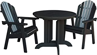 product image for highwood 3 Piece Hamilton Round Dining Set, Luxor