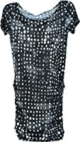 RACHEL Rachel Roy Womens Fashion Top - T-Shirt Dress X-Small