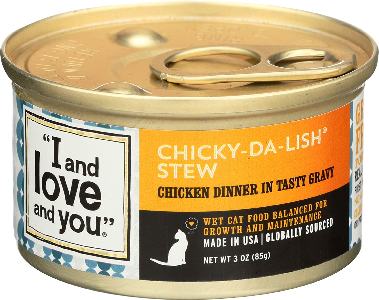 I AND LOVE AND YOU Chicken Chunky Gravy, 3 OZ