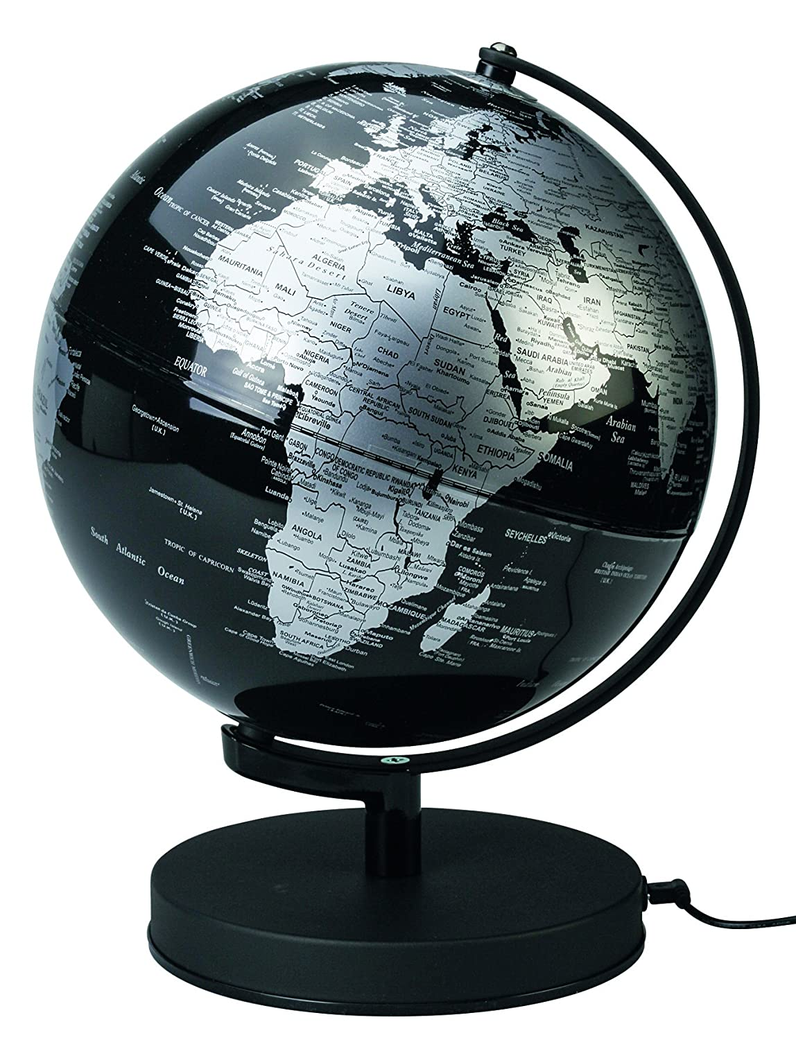 Barato Sign 23682 no Globe luminoso 25 cm Negro