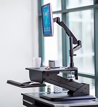 Amazoncom MountIt SitStand Desk Converter and Height