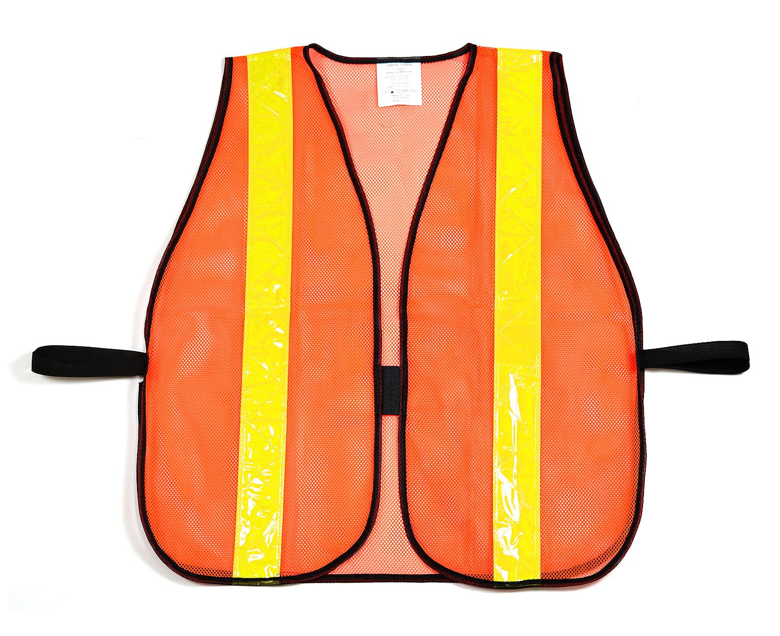 (Box Deal) RK 8011 Safety Vest with Reflective Stripes (50- Pack, Neon Orange)