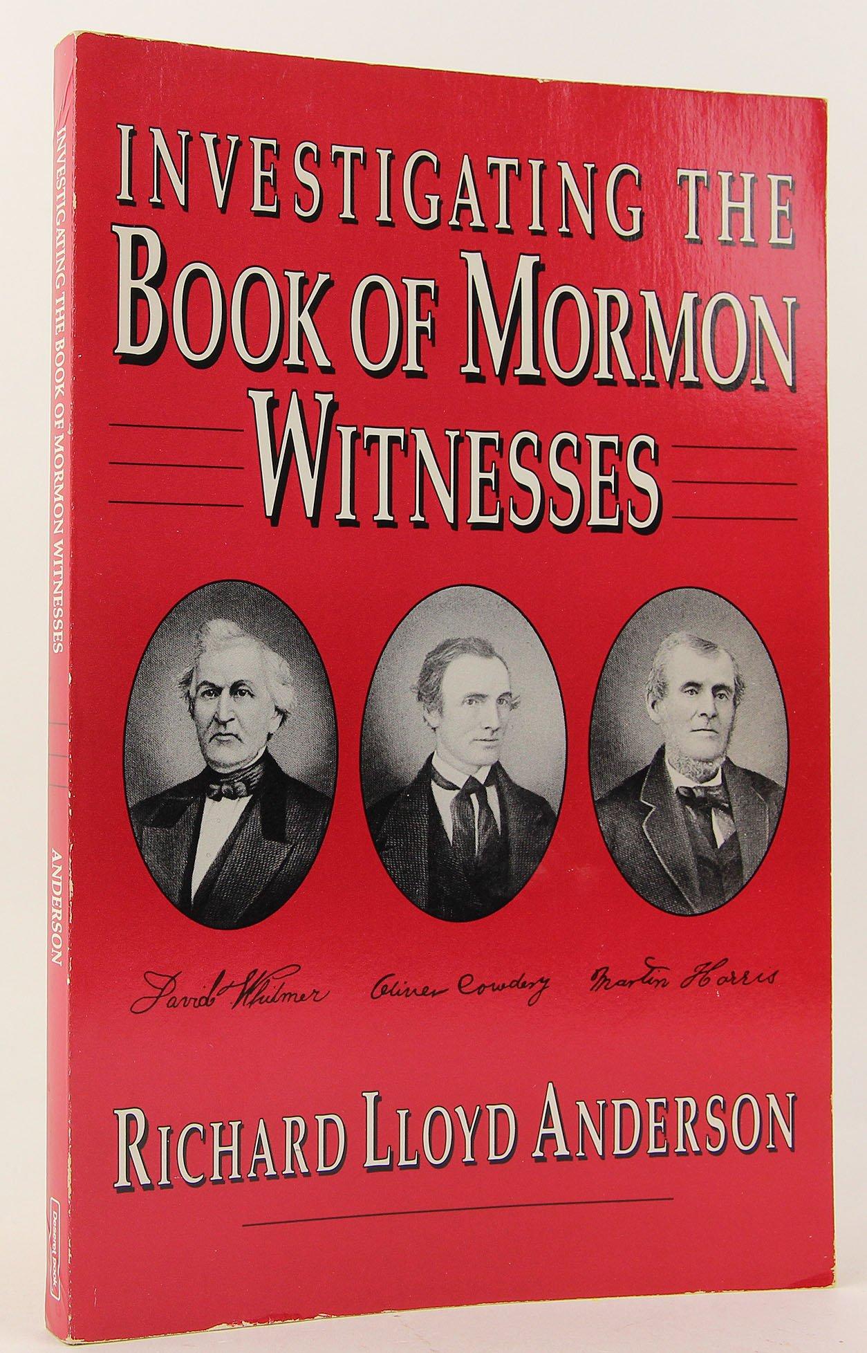 Investigating the Book of Mormon Witnesses pdf epub