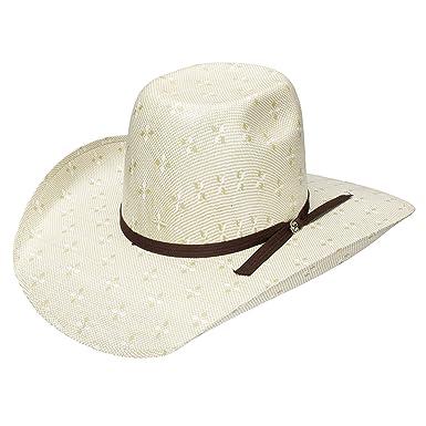 baf648dd500 Amazon.com  Resistol Hooey Collection Pecos Straw Cowboy Hat  Clothing
