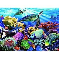 Ravensburger 12608 Ocean Turtles Puzzle 200pc,Children's Puzzles