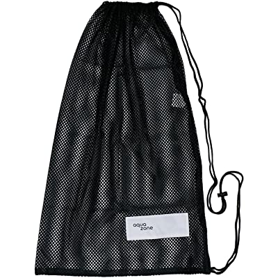 70%OFF Drawstring Sports Equipment Mesh Bag For Swimming Beach Diving Travel Gym