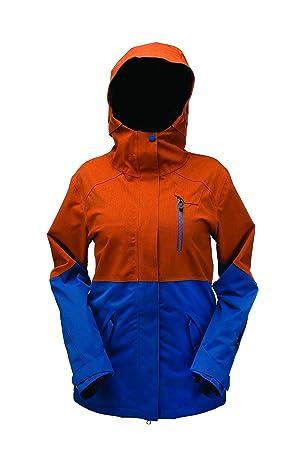 Ride 858 Chaqueta para Mujer Fluorosilicatos grußbox Magnolia Abrigo para Mujer, otoño/Invierno, Mujer, Color Azul - Azul Marino, tamaño M: Amazon.es: ...