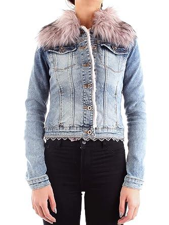 Fracomina Giacca di Jeans Donna FPJ118: Amazon.it: Abbigliamento