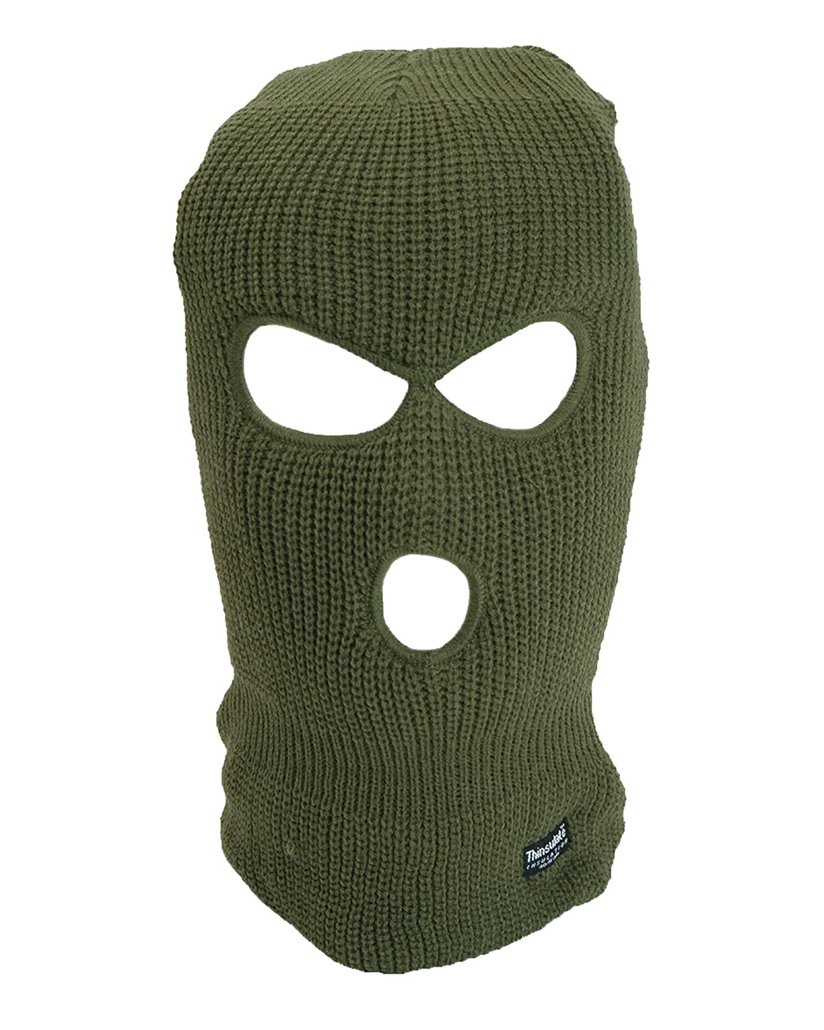 3 Hole Balaclava Winter Warm Thinsulate Knitted Face Mask