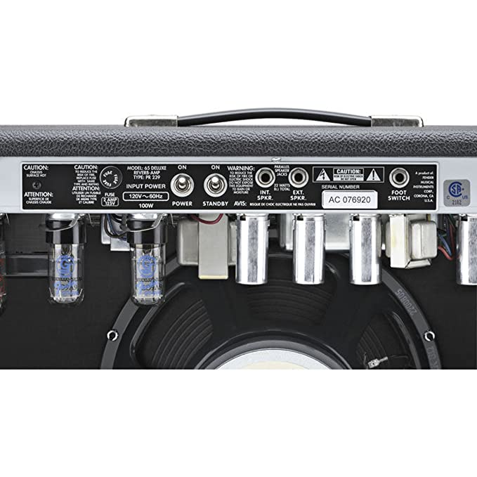 Fender 65 Deluxe Reverb · Amplificador guitarra eléctrica: Amazon.es: Instrumentos musicales