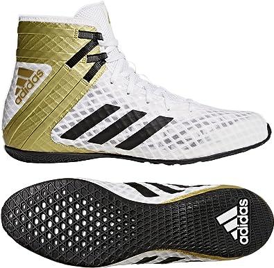 7023f9b82483 adidas Speedex 16.1 Unisex Boxing Shoes White Mens Junior Women ...