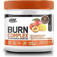 Optimum Nutrition Burn Complex Caffeine Free Peach Mango Thermogenic Powder, 135 Grams