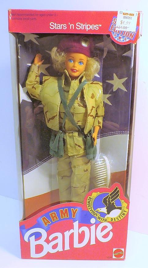 Amazon 1992 Army Barbie Toys Games