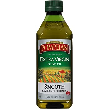 Pompeian Smooth First Cold Press Olive Oil