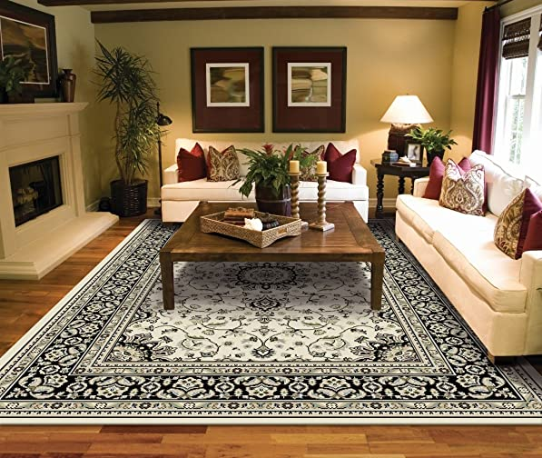 Traditional Area Rugs for Living Room Ivory Area Rugs 5×7 Under 50