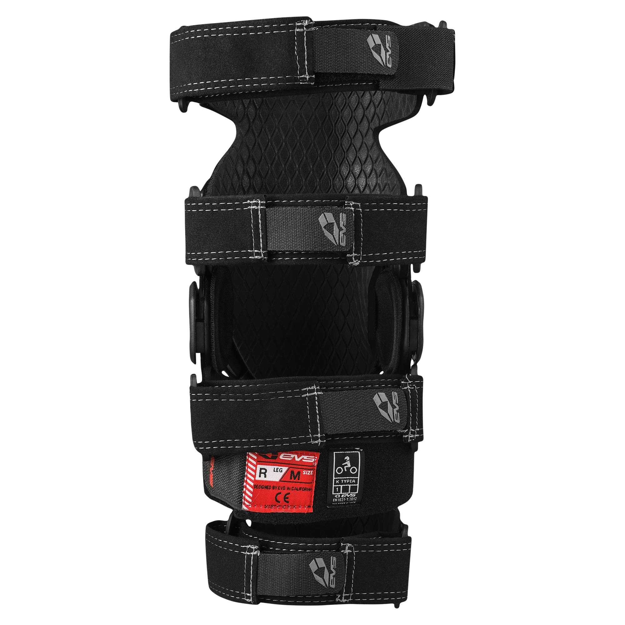 EVS Sports Unisex-Adult Axis Sport Knee Brace - Pair (Black, Large, 2 Pack by EVS Sports (Image #3)