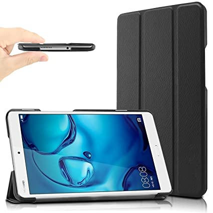 cheap for discount 42f83 1fa50 Infiland Case for Huawei Mediapad M3 8.4, Ultra Slim Lightweight Case  Compatible with Huawei Mediapad M3 8.4 inch Tablet(Auto Wake/Sleep ...
