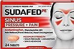 Sudafed PE Sinus Pressure + Pain Relief Maximum Strength Non-Drowsy Decongestant,