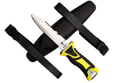 Amazon.com: Buceo cuchillo Deep Sea Excalibur Arthur, Blunt ...