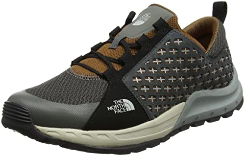 The North Face M Mountain Sneaker, Zapatillas de Senderismo para Hombre, (Graphite Grey/tagumi Brown), 42 EU: Amazon.es: Zapatos y complementos