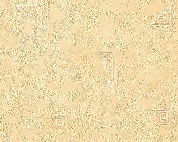 Mediterrane Tapeten walls vliestapete tapete in mediterraner putzstruktur 10 05 m x