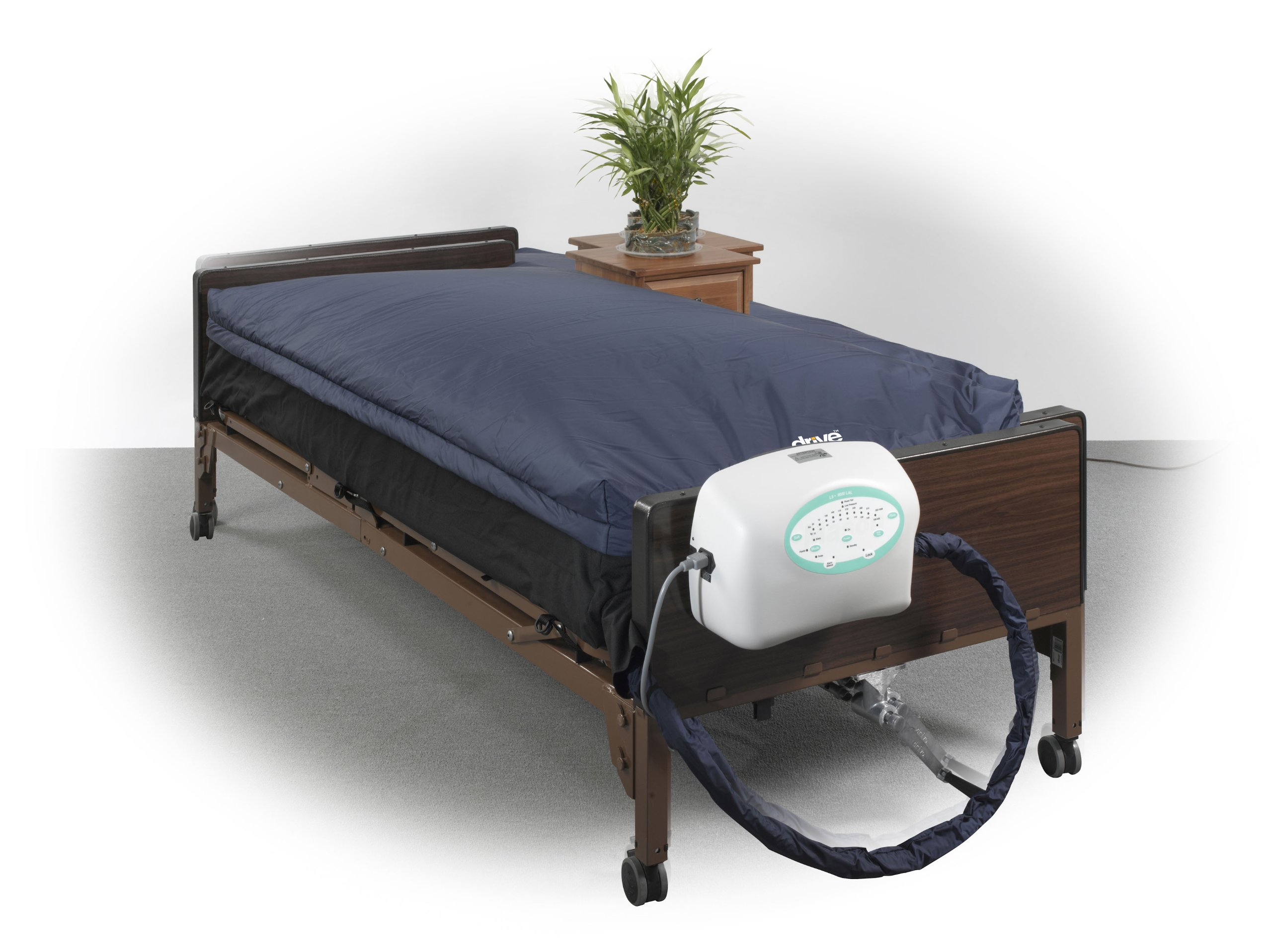 Drive Medical True Low Air Loss Mattress System with Pulsation, 10'', Model - LS9000