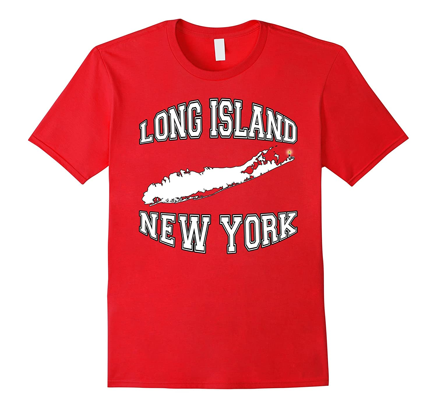 Long Island NY Tee Shirt-TH