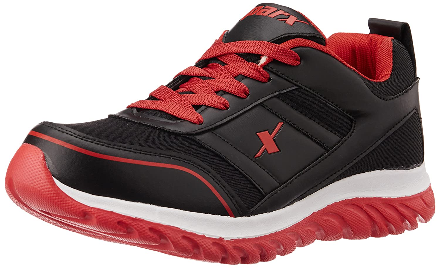 Sparx Men's running shoes red color