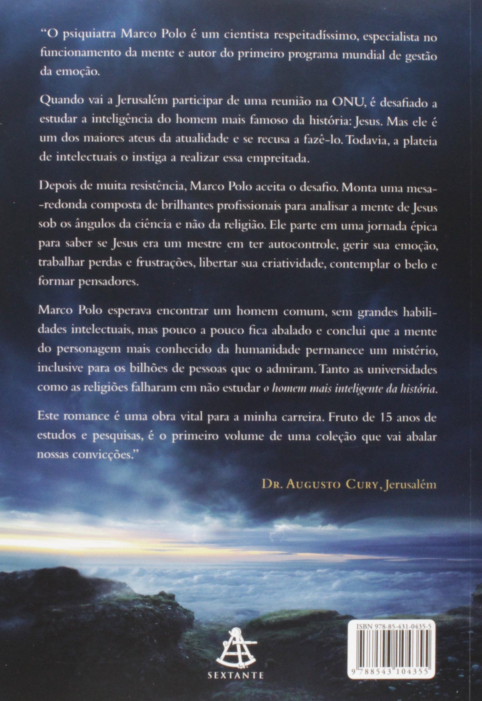 Livro 'O homem mais inteligente da história' por Augusto Cury