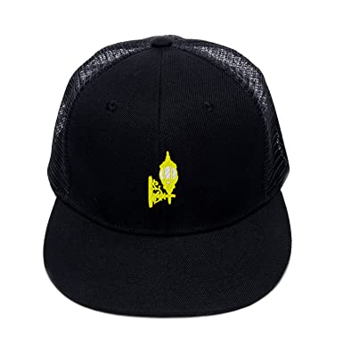 ad26f854e38 Unisex Flat Brim Hats Custom Art Birdcage Light Cap Store Hats Rock Punk Hat  at Amazon Men s Clothing store