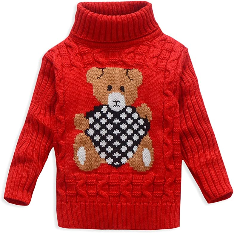 Mud Kingdom Toddler Girls Sweaters Pullover Lace with Rosette