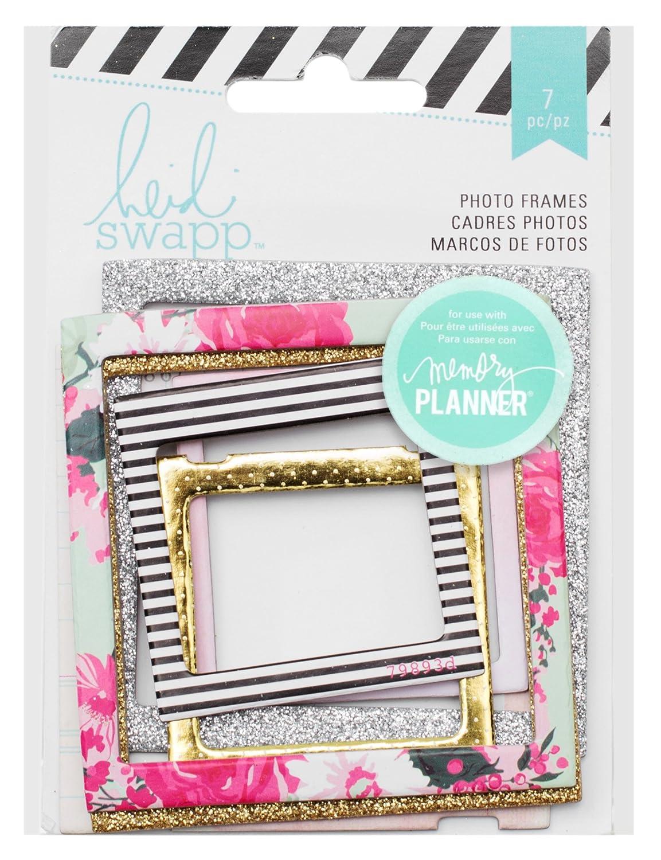 Mehrfarbig Acryl American Crafts Heidi Swapp 10268595/Schablone Zum Memory Planer Foto Rahmen