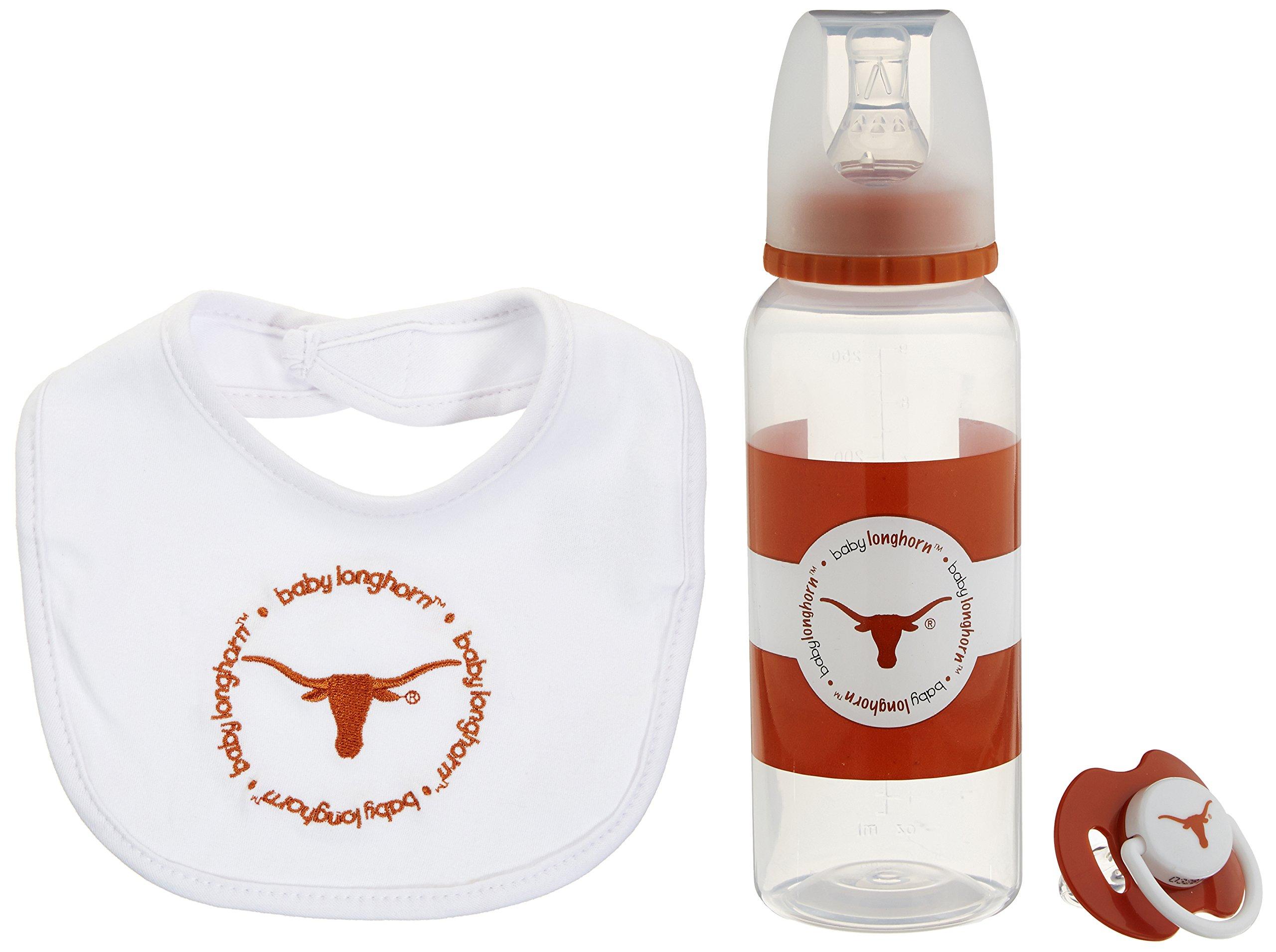 Baby Fanatic Gift Set,University of Texas by Baby Fanatic