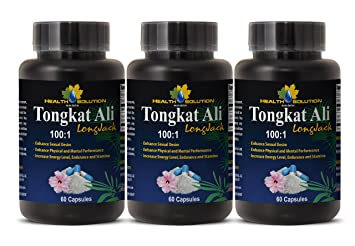 Tongkat ali in improving sex
