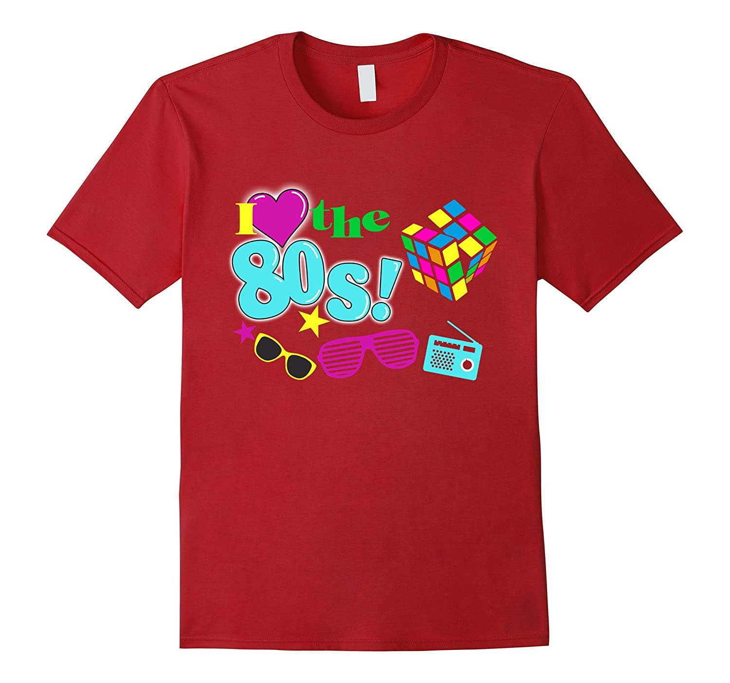 I Love The 80s Eighties T-shirt-RT