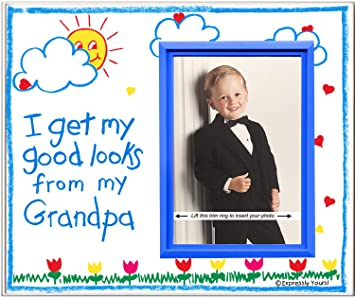 Amazoncom Grandpa Picture Frame Affordable Colorful And Fun