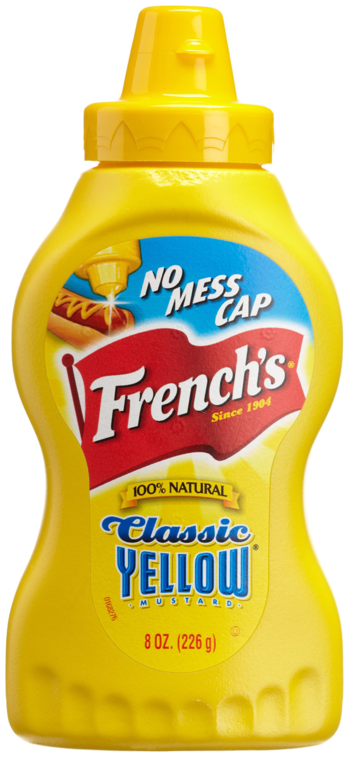 French's Classic Yellow Mustard, 8-Ounce Squeeze Bottles (Pack of 24)