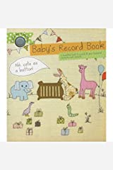 Baby's Record Book Hardcover