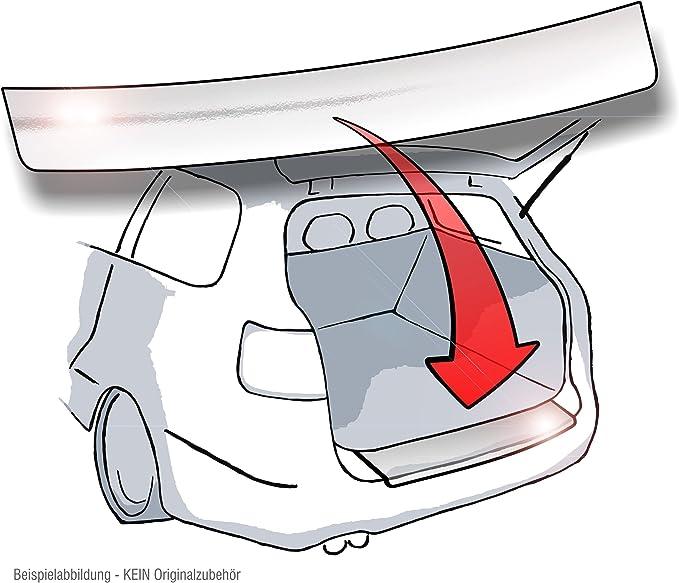 Lackschutzfolie Schutzfolie Ladekantenschutz In Chrome Hochglänzend Chrom Und Passgenau Für Fahrzeugmodell Siehe Beschreibung Lackschutz Autoschutzfolie Passend Auto