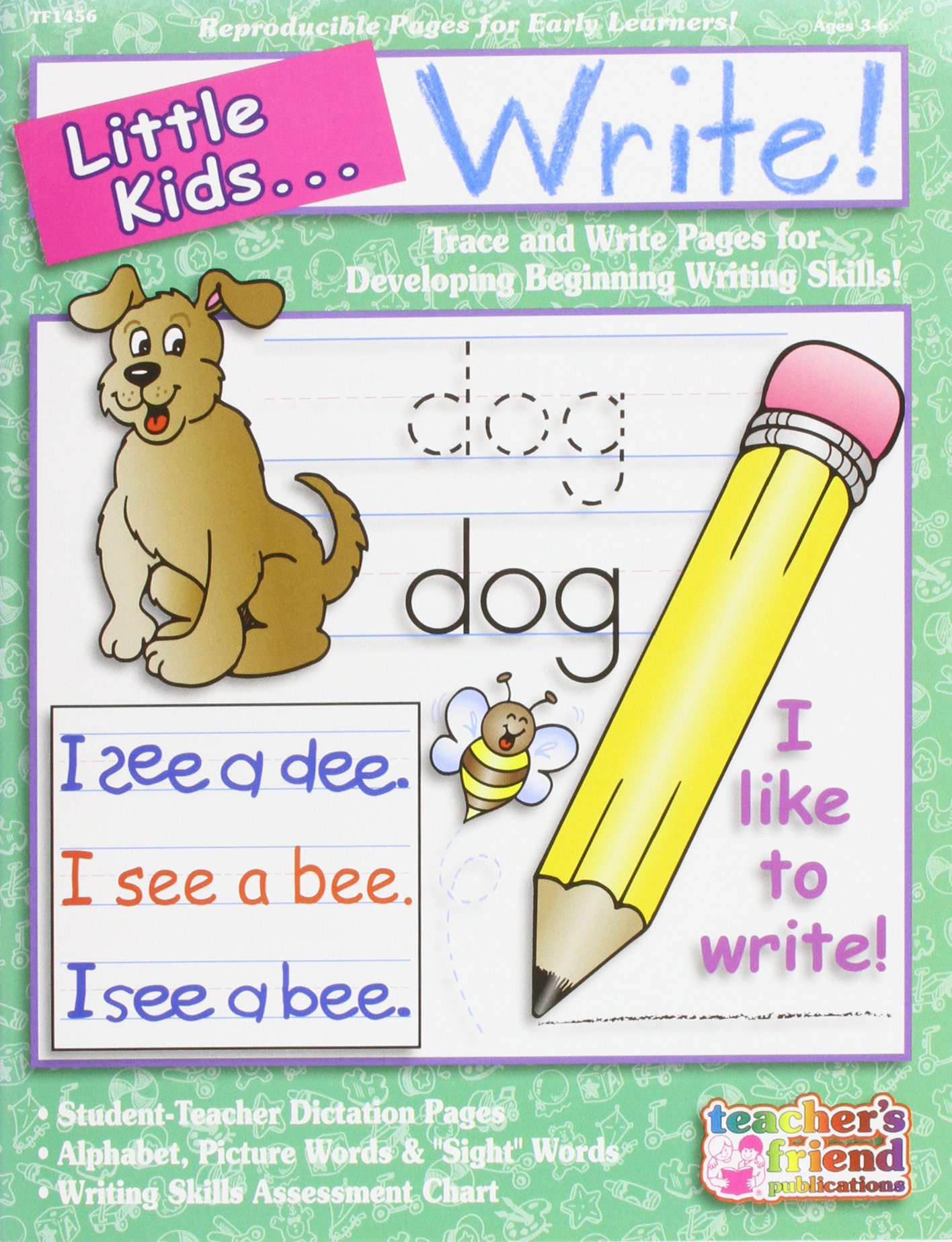 Little Kids . . . Write! PDF
