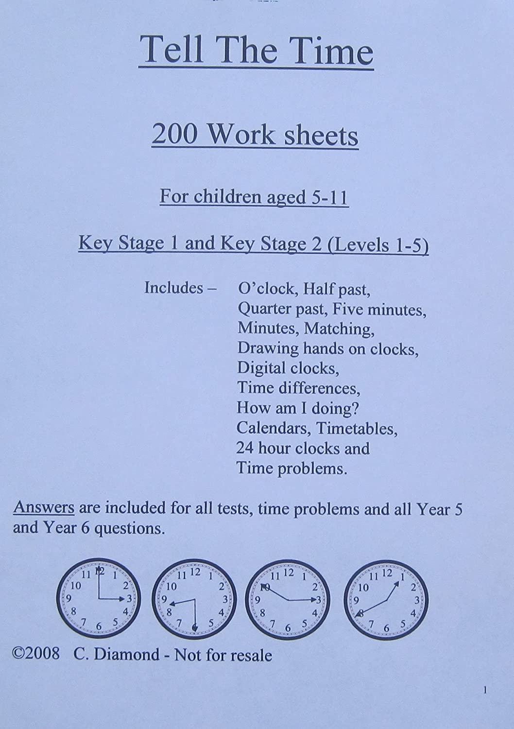 200 Year 2 Maths Worksheets KS1 pdf file to print out Amazonco – Key Stage 2 Maths Worksheets to Print