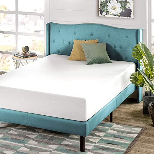 Amazon Com Zinus 10 Inch Green Tea Memory Foam Mattress Certipur Us Certified Bed In A Box Pressure Relieving Queen Furniture Decor